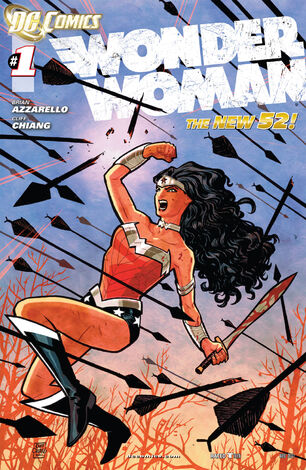 Wonder Woman Vol 4-1 Cover-1