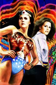 WonderWoman '77 Meets The Bionic Woman 01 Cover Cat Staggs