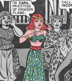 Zara, Priestess of Crimson Flame