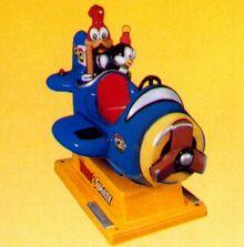 Woody & Chilly aeroplane JR