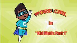 Kid Math pt 1 titlecard