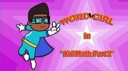 Kid Math pt 2 titlecard