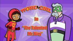 The Talented Mr. Birg titlecard