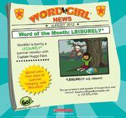 WordOfTheMonthAugust2012leisurely