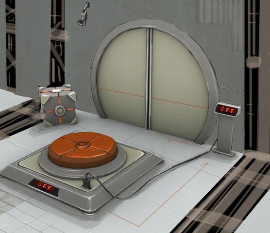 File:Portal 2 PotatoFoolsDay ARG 1500 Megawatt Aperture Science Heavy Duty Super-Colliding Super Button Concept Art.jpg