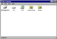Windows95 explorer