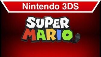 Nintendo 3DS - Super Mario E3 Trailer