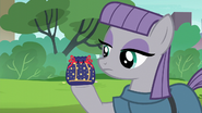 Maud Pie holding a rock pouch S6E4
