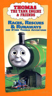 Races, Rescues and Runaways and Other Thomas Adventures (VHS/DVD)