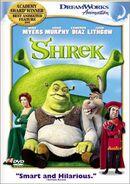 Shrek 2003dvd