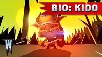 Official World of Warriors Bio Kido