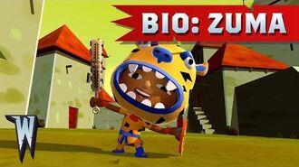 Official World of Warriors Bio Zuma
