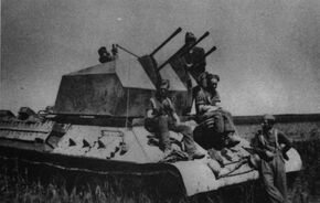 Flakpanzer T-34 747(r) Panzerjäger 653