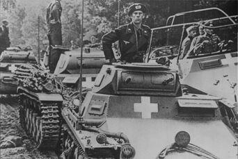 Panzer I Column, Poland 1939