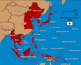 Japanese empire1942