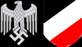 Wehrmacht Stahlhelm Insignias