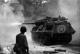 M10 Tank Destroyer, Saint Lô 1944