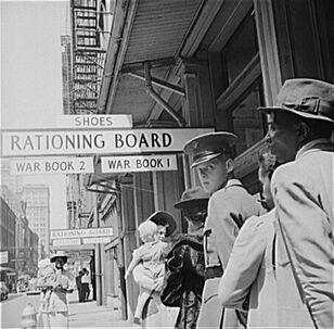 Rationing, New Orleans