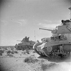 M3 Stuart Patrol, North Africa 1942