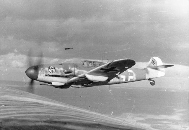 File:Bf 109 in flight 1943.jpg