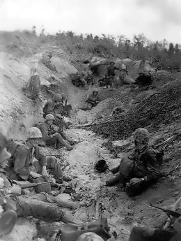 File:Marines on Orange Beach, Peleliu 1944.jpg