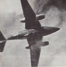 Me 262 Shotdown, 1945