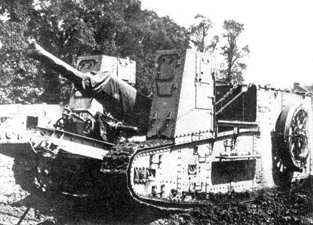 File:British Gun Carrier Mark I - 60 pdr.jpg