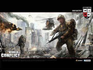 Wallpaper Infantry