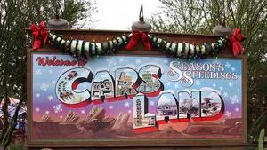 Christmas Cars Land Billboard