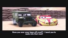 Sarge instructs Lightning