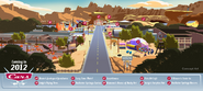 CarsLand-Map-Art