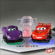 Disney infinity cars play set figure 01