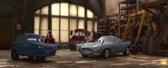 Cars 2 tomber with finn mcmissile
