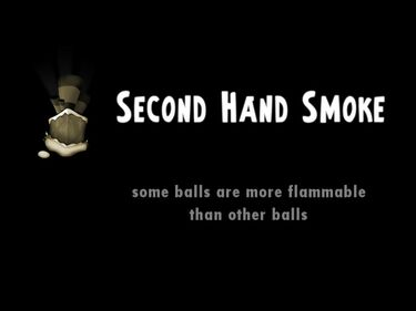 Second Hand Smoke title