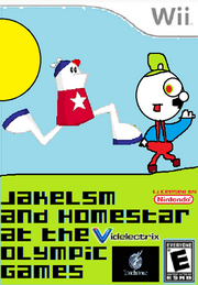 Jakelsm and Homestar at the Olympic Games