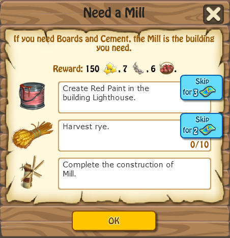NEED A MILL