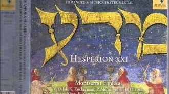 """Por Que Llorax Blanca Nina""(Sephardic Jewish music from Sarajevo) Jordi Savall, Montserrat Figueras"