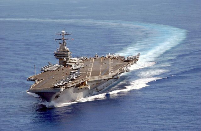 File:CcUSS Carl Vinson on patrol in the Pacific 2003-06-10.jpg