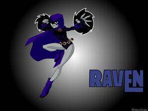 Teen Titans Raven by Silver Dreams