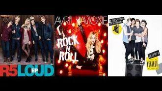 5 Seconds Of Summer vs Avril Lavigne vs R5 - She Looks So Perfect vs Rock N Roll vs Loud (Mashup)