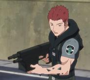 Kizaki Asteroid rifle anime