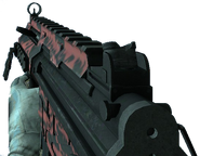 A red MP5K