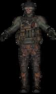 A Mercenary gunner
