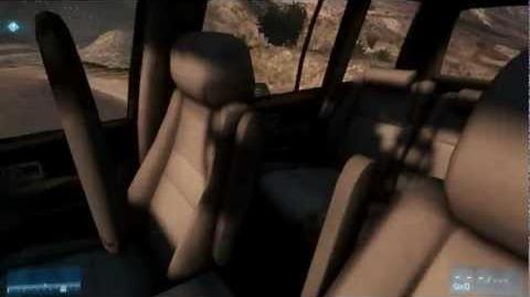 Battlefield 3 - Kaffarov Bug Glitch - How to drive the SUV