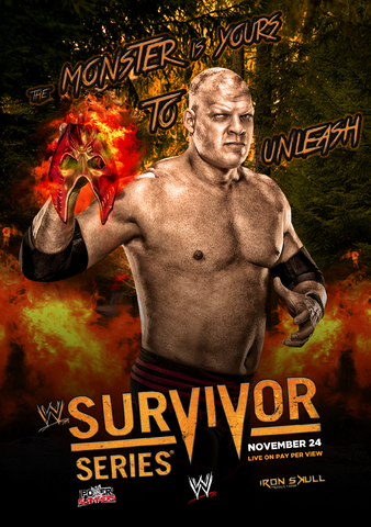 File:Wwe survivor series 2013 custom poster by theironskull-d6sspyu.png