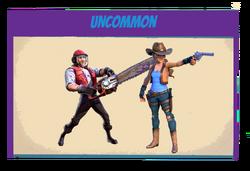 Survivors-uncommon