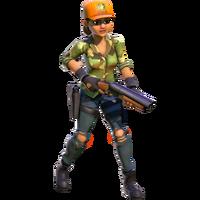 Human common mercenary