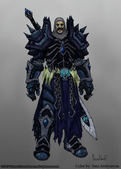 Human Death Knight by turtleemperor