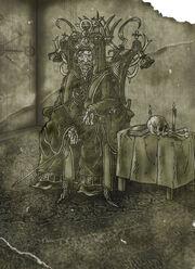 The Dark Priest by Lutheon