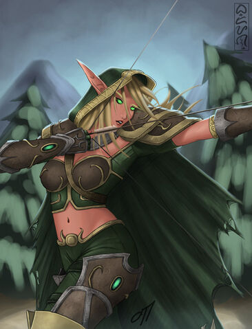Datei:DotA Alleria the Windrunner by onetamad.jpg